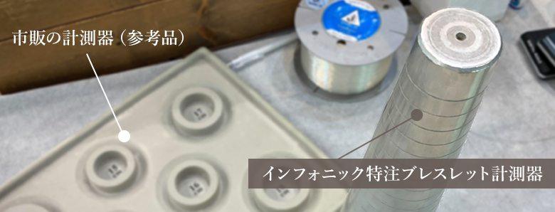 ブレスレット専用計測器