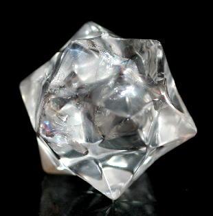 ブラジル産天然水晶 スターカット(QAZ-STAR01)