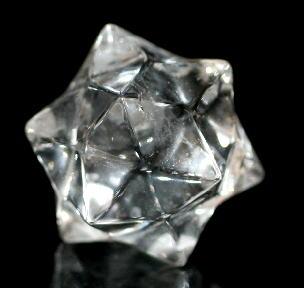 ブラジル産天然水晶 スターカット(QAZ-STAR06)