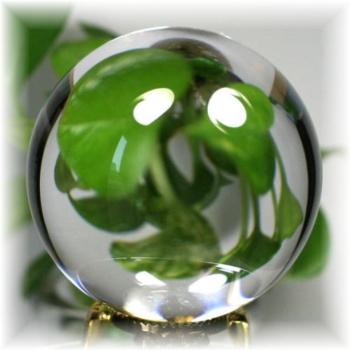 [ブラジル産]天然無垢本水晶 丸玉(3A-CRYSTALSPHERE547)