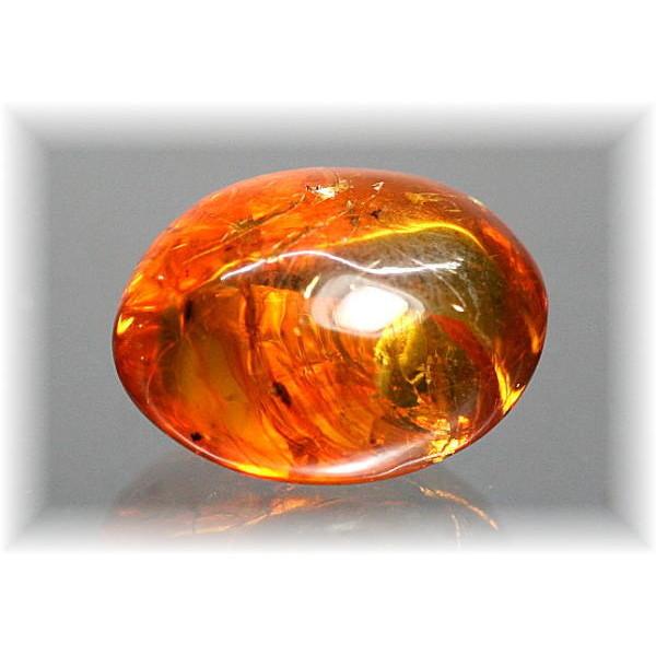 コロンビア産アンバー・琥珀 原石(AMBER-K808IS)