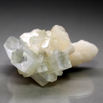 [インド産]アポフィライト結晶石/クラスター