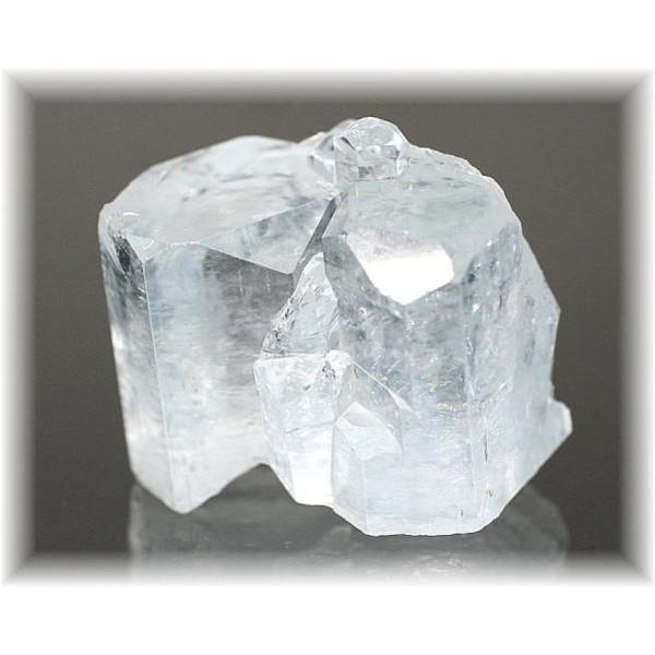 パキスタン・Shigar Valley産 天然アクアマリン結晶(AQUAMARINE-CRYSTAL481IS)