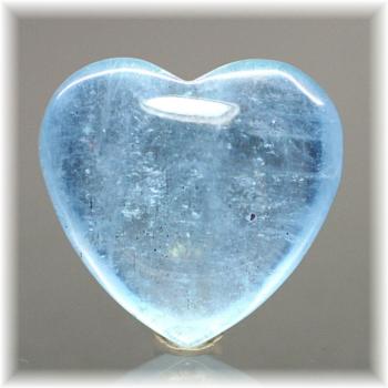 ブラジル産アクアマリン ハートシェイプ[AQH-101](Aquamarine-Heart101IS)