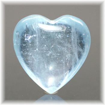 ブラジル産アクアマリン ハートシェイプ[AQH-102](Aquamarine-Heart102IS)