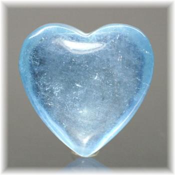 ブラジル産アクアマリン ハートシェイプ[AQH-103](Aquamarine-Heart103IS)