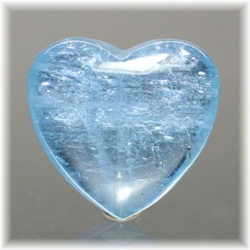 ブラジル産アクアマリン ハートシェイプ[AQH-106](Aquamarine-Heart106IS)