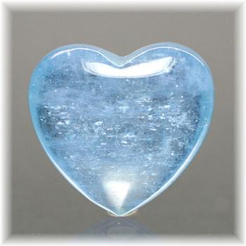 ブラジル産アクアマリン ハートシェイプ[AQH-107](Aquamarine-Heart107IS)