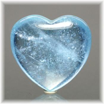 ブラジル産アクアマリン ハートシェイプ[AQH-108](Aquamarine-Heart108IS)