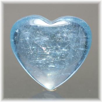 ブラジル産アクアマリン ハートシェイプ[AQH-110](Aquamarine-Heart110IS)