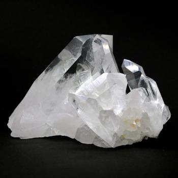 [アメリカ/アーカンソー州産]水晶クラスター(珍しい大きめポイント)