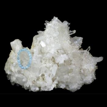 アメリカ・アーカーソン州産水晶クラスター(ARKANSAS-QUARTZ1462)