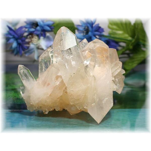 アメリカ・アーカンソー産水晶クラスター(ARKANSAS-QUARTZ723IS)