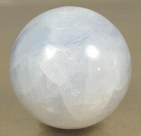 マダガスカル産ブルーカルサイト丸玉(BLUECALCIT-SPH05)