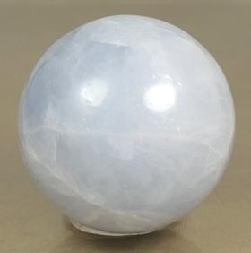 マダガスカル産ブルーカルサイト丸玉(BLUECALCIT-SPH08)