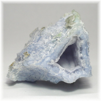 [南アフリカ産]ブルーカルセドニー  原石(BlueChalcedony-095IS)