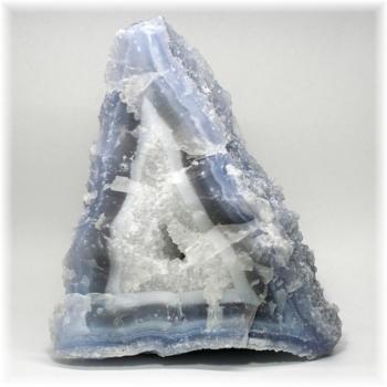 [南アフリカ産]ブルーカルセドニー  原石(BlueChalcedony-1230IS)