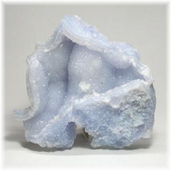 [南アフリカ産]ブルーカルセドニー  原石(BlueChalcedony-130IS)