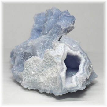 [南アフリカ産]ブルーカルセドニー  原石(BlueChalcedony-280IS)