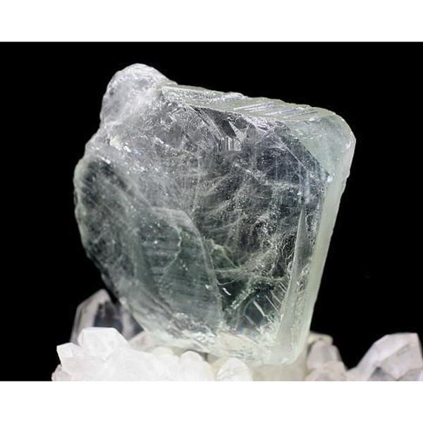 ブラジル産 天然ブルートパーズ 結晶石(BLUTOPAZ-CK15)