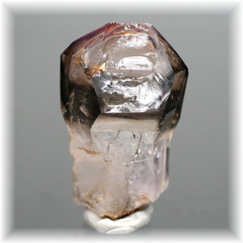 ナミビア・ブランドバーグ産スモーキーアメシスト ナチュラルポイント(BRANDBERG-SMAM280IS)