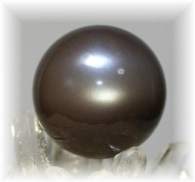 インド産ブラウンムーンストーン丸玉(BROWNMOONSTONE-07)