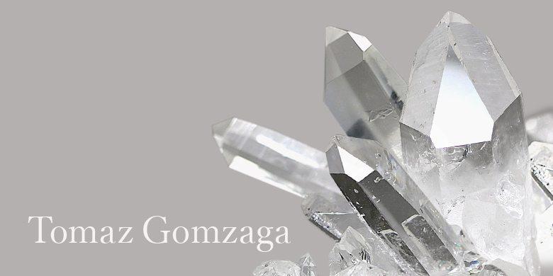 トマス・ゴンサガ産水晶クラスター