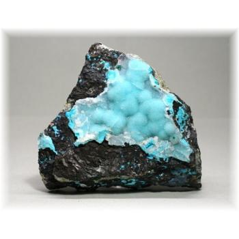 スコーピオン鉱山産クリソコーラ・マラカイト・クォーツ共生石(CHRYSOCOLLAPARAGENSIS-IS102)