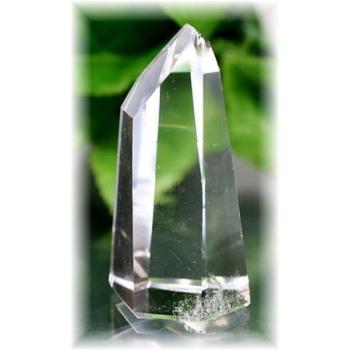 ブラジル産水晶ポリッシュポイント(CLYSTAL-PP107)