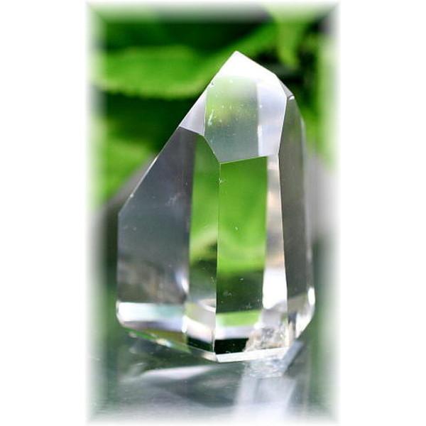 ブラジル産水晶ポリッシュポイント(CLYSTAL-PP110)