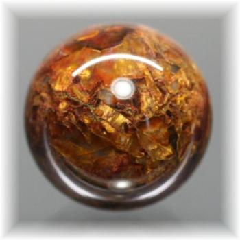 ナミビア産ピーターサイト丸玉/スフィア(CROCIDOLITEAGETE-111IS)