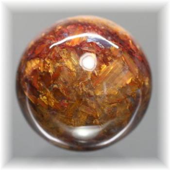 ナミビア産ピーターサイト丸玉/スフィア(CROCIDOLITEAGETE-SPHERE113IS)