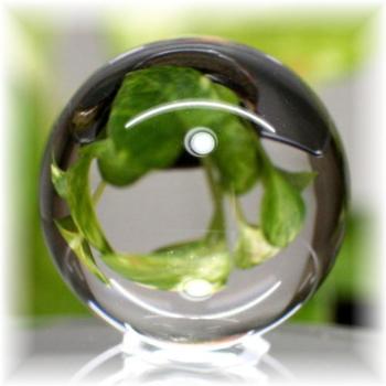 天然本水晶無垢 丸玉(CRYSATL-SPHERE17IS)