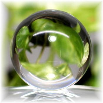 天然本水晶無垢 丸玉(CRYSATL-SPHERE18IS)