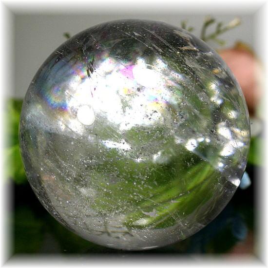 [ブラジル産]天然水晶玉/丸玉/スフィア