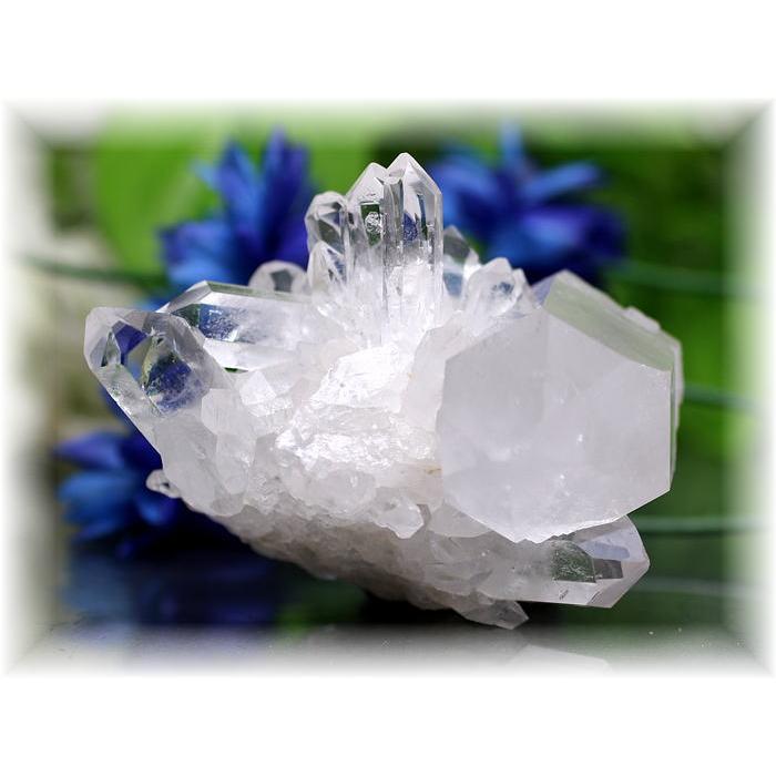 ブラジル・ミナスジュライス産水晶クラスター(QUARTZCLUSTER-303IS)