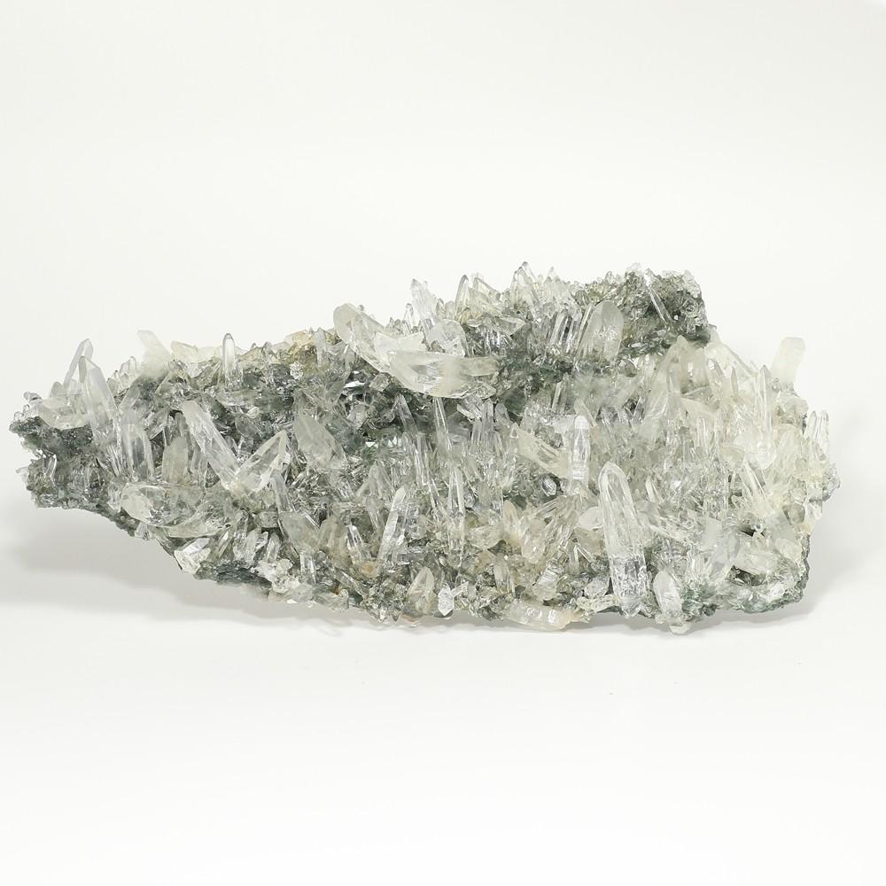 [トップクォリティ・インド/ガルサ渓谷産]ヒマラヤ水晶クラスター(透明度高い細かな結晶が密集するクラスター)