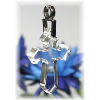 ガネッシュヒマール産ヒマラヤ水晶 十字架ペンダント(GANESH-CROSSPT180)