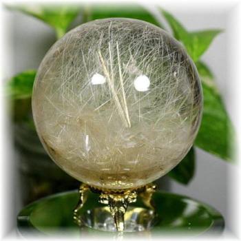 ガネッシュヒマール産ヒマラヤ水晶 丸玉(GANESH-SPHERE616)