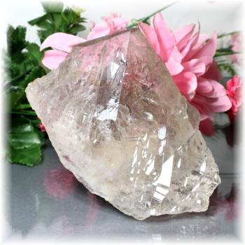 ガネッシュヒマール産ヒマラヤスモーキーカテドラル水晶(GaneshSmokyCathedral-550IS)
