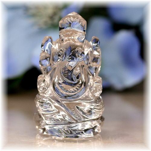 ガネッシュヒマール産ヒマラヤ水晶 ガネーシャ神像