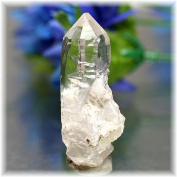 [ガネッシュヒマール産]ヒマラヤ水晶 ナチュラルポイント(GHN-QZ0156)