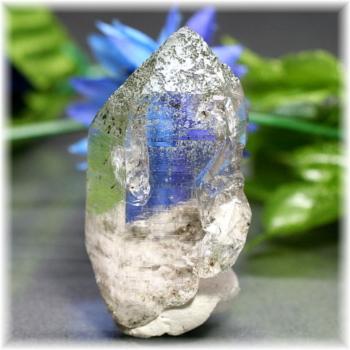 [ガネッシュヒマール産]ヒマラヤ水晶 ナチュラルポイント(GHN-QZ0348)