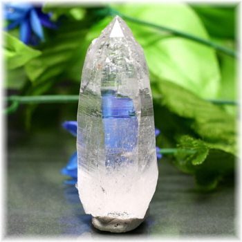 [ガネッシュヒマール産]ヒマラヤ水晶 ナチュラルポイント セルフヒールド(GHN-QZ0589)