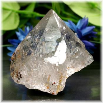 [ガネッシュヒマール産]ヒマラヤ水晶 ナチュラルポイント(GHN-QZ1485)