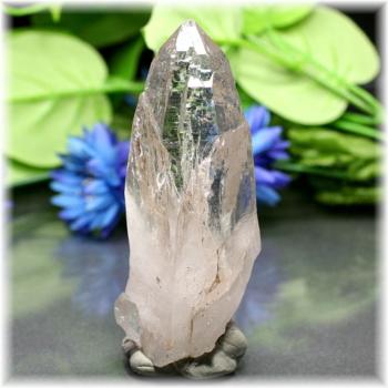 [ガネッシュヒマール産]ヒマラヤ水晶 ナチュラルポイント(GHN-QZ1671)