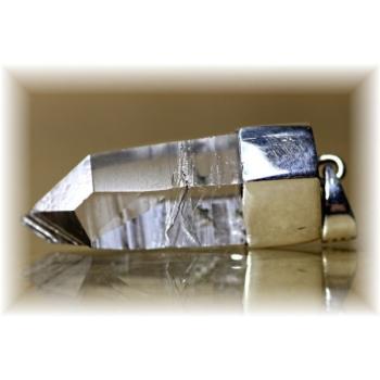 ガネッシュヒマール産ヒマラヤ水晶スーパーナチュラル ペンダント(GANEZA-SUPEARNUTURAL142)