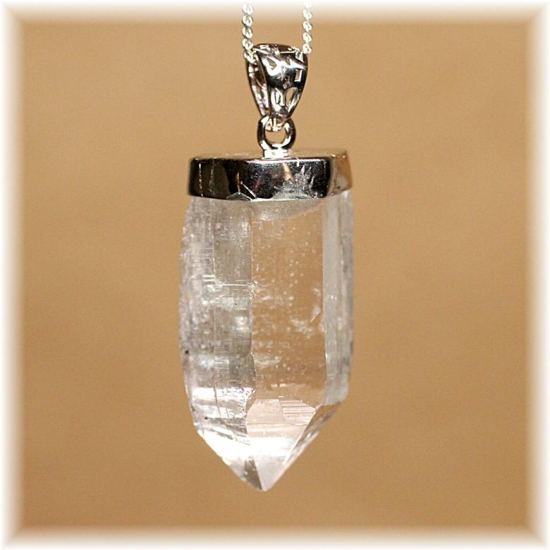 ガネッシュヒマール産ヒマラヤ水晶スーパーナチュラル ペンダント(GANEZA-SUPEARNUTURAL703IS)