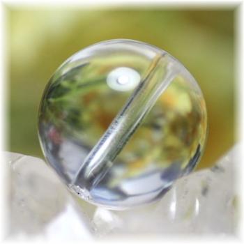 最高品質 ガネッシュヒマール産ヒマラヤ水晶 15.5ミリ玉 粒販売(GANEZA-TUBU-1552)