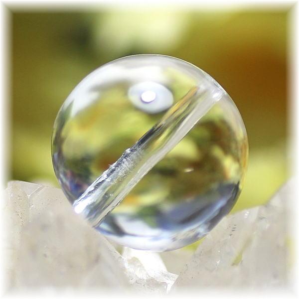 最高品質 ガネッシュヒマール産ヒマラヤ水晶 15.5ミリ玉 粒販売(GANEZA-TUBU-1553)